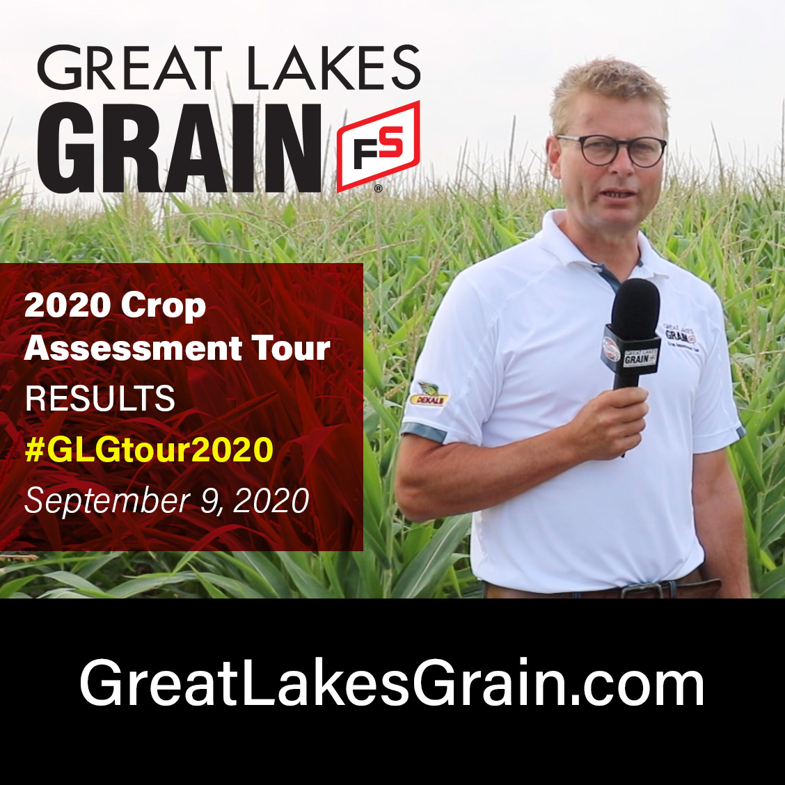 Final yield and crop quality report for 2020 Crop Assessment Tour